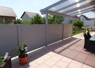 Alu Sichtschutz Terrassenüberdachung (2)