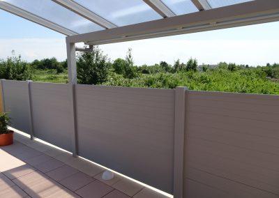 Alu Sichtschutz Terrassenüberdachung (1)